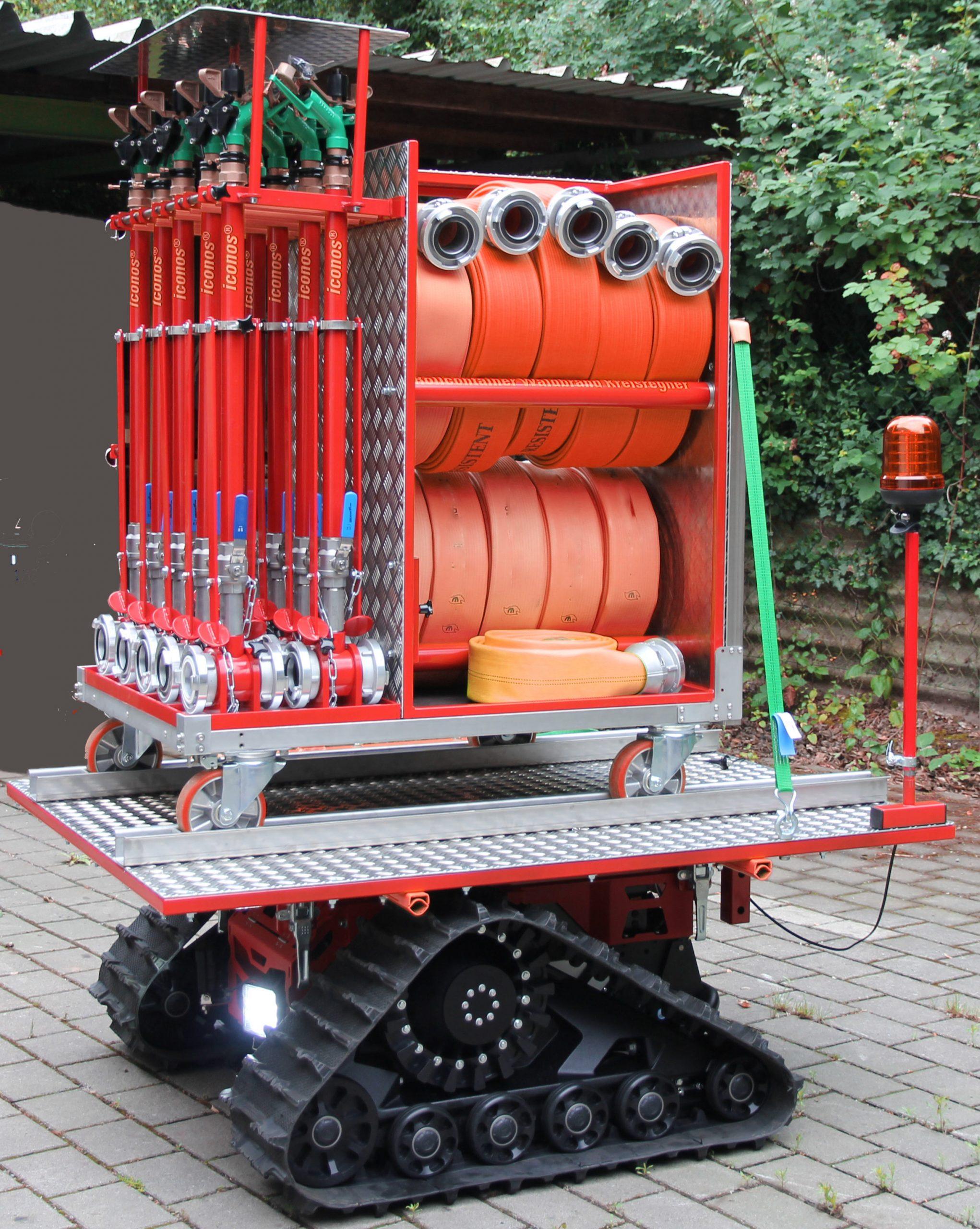 rollcontainer waldbrand - damit gibt es kein mühsames Schleppen der Ausrüstung mehr