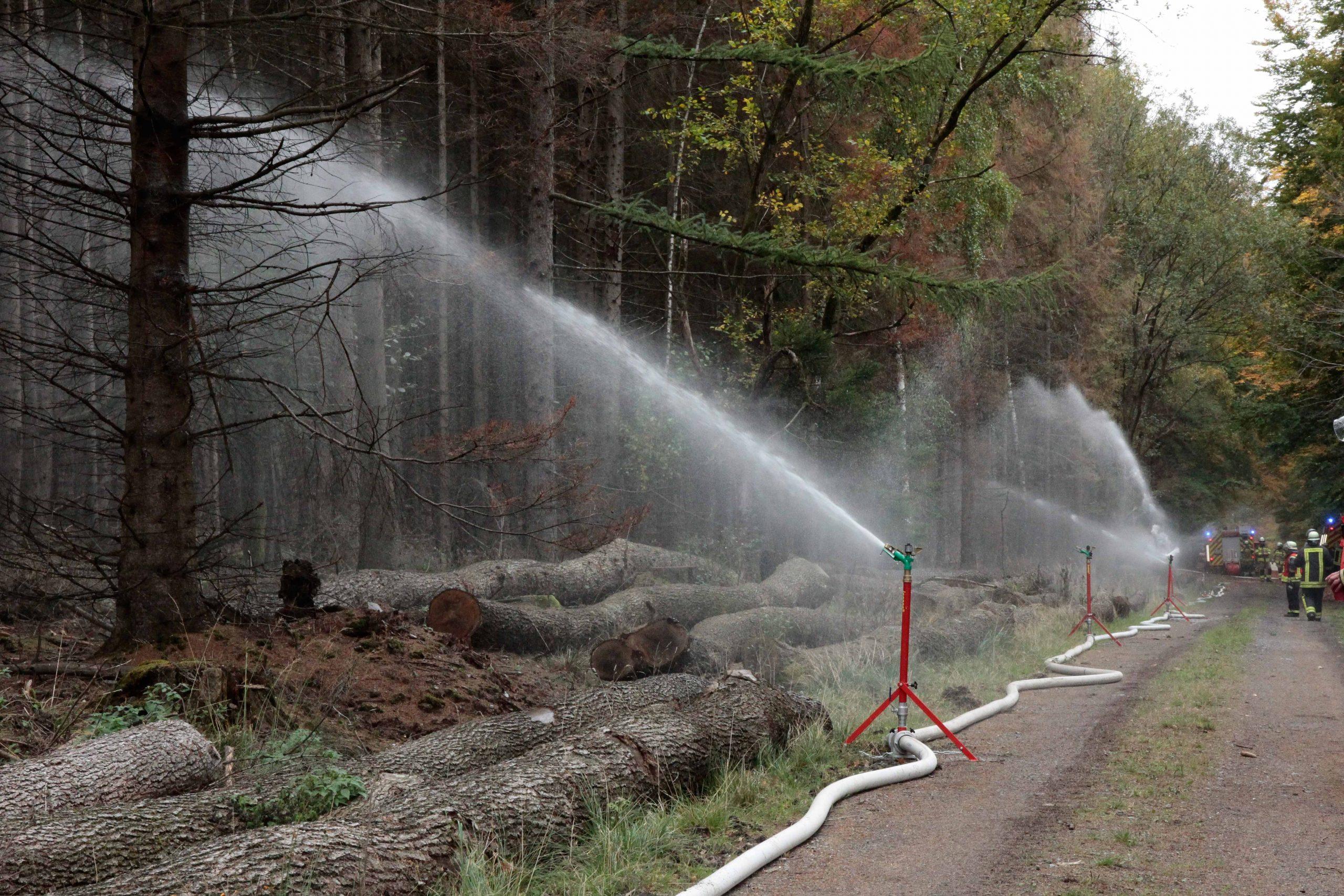 kreisregner-zur vegetationsbrandbekämpfung